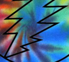 Grateful Dead Deadhead Tye Dye Sticker