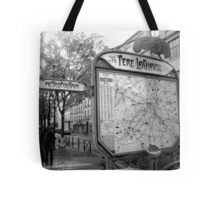 Metropoutain, Pere Lachaise, Paris Tote Bag