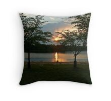 DC Sunset Throw Pillow