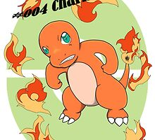 004 Charmander by GuyWhoStares