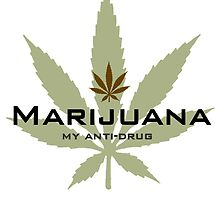Marijuana, my anti-drug. by lucasbrondi