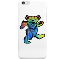 Grateful Dead Dancing Bear Tye Dye iPhone Case/Skin