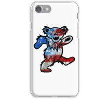 Grateful Dead Dancing Bear American Flag iPhone Case/Skin