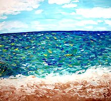 """Oceanbreeze"" by Adela Camille Sutton"