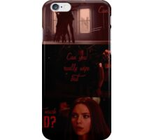 Can you really wipe out that much red? iPhone Case/Skin