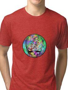 Grateful Dead Deadhead Trippy Tri-blend T-Shirt