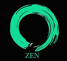 7 DAY'S OF SUMMER-YOGA ZEN RANGE- EMERALD ENSO by 7 days of Summer