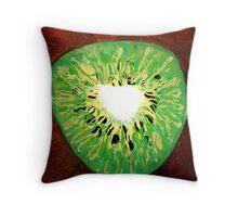 """""""Kiwi Coeur' Throw Pillow"""