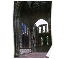 Ruined end to old church Lanercost Priory Cumbria England 198405260029 Poster
