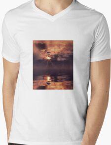 Infinite peace Mens V-Neck T-Shirt