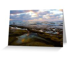 Tide Pool Reflections Greeting Card