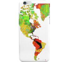 World Map 6 iPhone Case/Skin