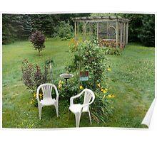 Summer Garden in July © 2008 Poster
