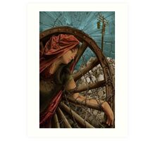 Hope as St. Catherine Art Print