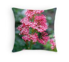 """Red and Beautiful"" Throw Pillow"