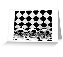 Distorted Perception Greeting Card