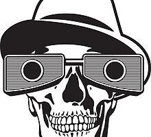 viewmaster skull by Brian Robertson