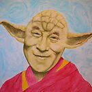 Dalai Yoda by Dylan DeLosAngeles