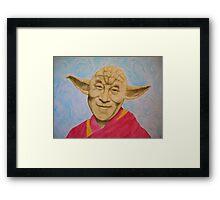Dalai Yoda Framed Print