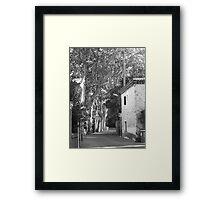 Lonely Nun Framed Print