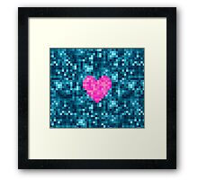 I Love Every Pixel of You Framed Print