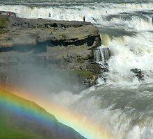 Rainbow Fall by Denis Molodkin