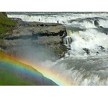 Rainbow Fall Photographic Print