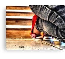 Red Shoes No. 2 Canvas Print