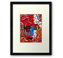 On Block lll Framed Print