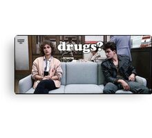Ferris Bueller Drugs? Canvas Print