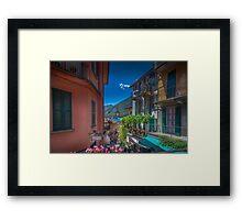 Interlude in Bellagio Framed Print