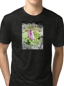 pink bleeding hearts #2 Tri-blend T-Shirt