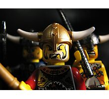 Vikings on the Rampage! Photographic Print