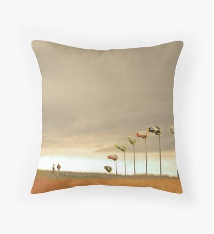 The Kindness of Strangers Throw Pillow