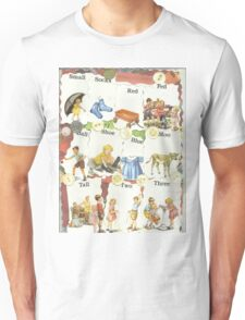 See Dick & Jane's Crazy Quilt.. Unisex T-Shirt