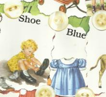 See Dick & Jane's Crazy Quilt.. Sticker