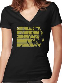 Cowboy Bebop Faye Valentine Women's Fitted V-Neck T-Shirt