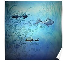 Fishy Fishes Poster