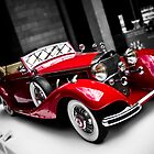 1936 Mercedes Benz 500K Roadster by Alistair Wilson