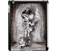 Miss Terri Riddles - Big eyed gothic investigateur extraordinaire!  iPad Case/Skin