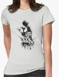 T H E - Q U E E N - I S - D E A D Womens Fitted T-Shirt