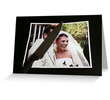 Marrying Reality Greeting Card