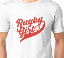 Rugby girl Unisex T-Shirt