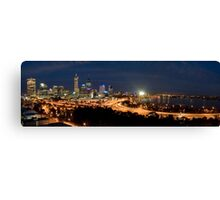The City of Perth Canvas Print