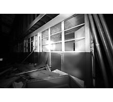 Disused offices Photographic Print