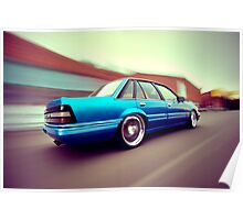 Blue Commodore VL Poster