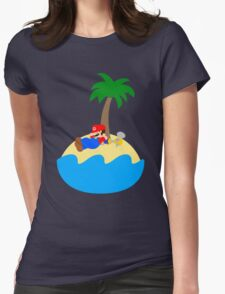 Super Mario Sunshine - Relaxation Womens Fitted T-Shirt