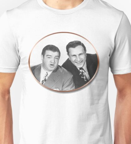 Abbott and Costello Unisex T-Shirt