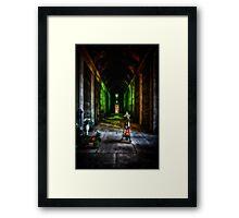 Verona Cemetery Framed Print