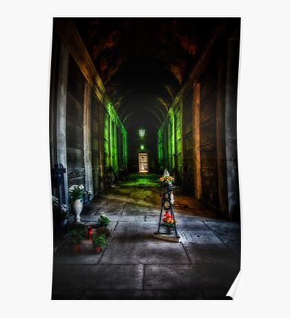 Verona Cemetery Poster
